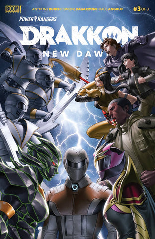 POWER RANGERS DRAKKON NEW DAWN #3 CVR A MAIN SECRET - Packrat Comics
