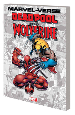 MARVEL-VERSE DEADPOOL AND WOLVERINE GN TP - Packrat Comics
