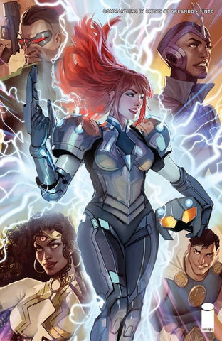 COMMANDERS IN CRISIS #1 CVR B SEJIC (MR) - Packrat Comics