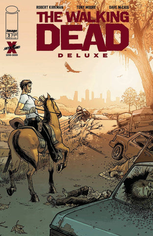 WALKING DEAD DLX #2 CVR B MOORE & MCCAIG (MR) - Packrat Comics