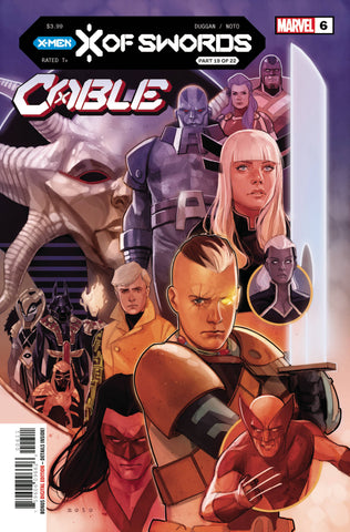 CABLE #6 XOS - Packrat Comics