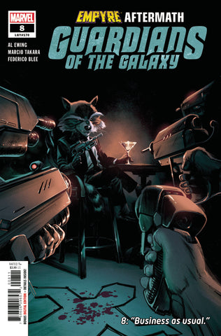 GUARDIANS OF THE GALAXY #8 - Packrat Comics