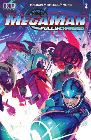MEGA MAN FULLY CHARGED #4 CVR A MAIN - Packrat Comics