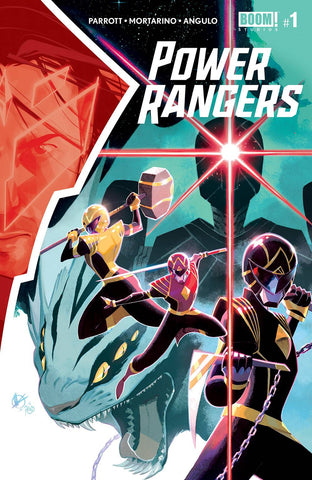 POWER RANGERS #1 CVR A SCALERA - Packrat Comics