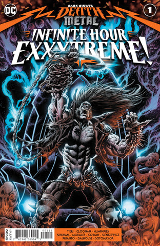 DARK NIGHTS DEATH METAL INFINITE HOURS EXXXTREME #1 - Packrat Comics