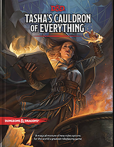 D&D 5E RPG TASHAS CAULDRON OF EVERYTHING HC