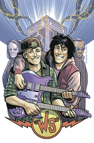BILL & TED ARE DOOMED #4 (OF 4) CVR B DEWEY - Packrat Comics