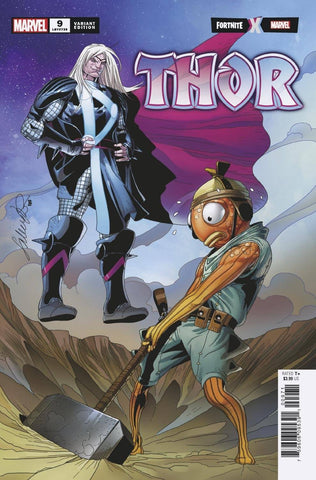 THOR #9 LARROCA FORTNITE VAR - Packrat Comics