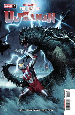 RISE OF ULTRAMAN #5 (OF 5) - Packrat Comics