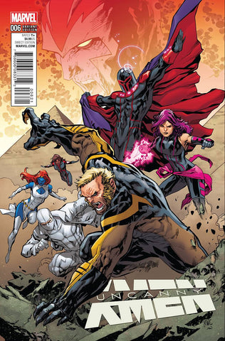 UNCANNY X-MEN #6 LASHLEY CONNECT B VAR