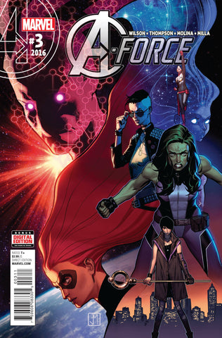 A-FORCE #3 - Packrat Comics