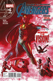 ALL NEW ALL DIFFERENT AVENGERS #6 ALEX ROSS 2ND PTG VAR