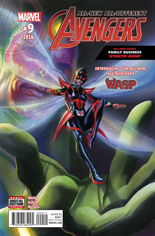 ALL NEW ALL DIFFERENT AVENGERS #9 ASO