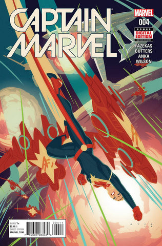 CAPTAIN MARVEL #4 - Packrat Comics