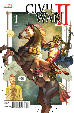 CIVIL WAR II #1 (OF 8) PARTY VAR - Packrat Comics