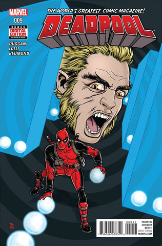 DEADPOOL #9 - Packrat Comics