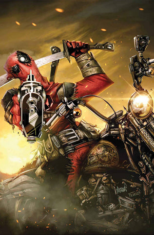 DEADPOOL MASACRE #1 - Packrat Comics