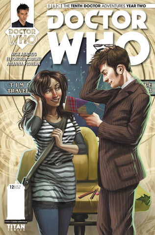 DOCTOR WHO 10TH YEAR TWO #12 CVR A IANNICIELLO - Packrat Comics