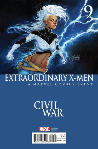 EXTRAORDINARY X-MEN #9 OUM CIVIL WAR VAR