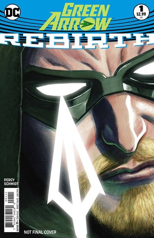 GREEN ARROW REBIRTH #1 2ND PTG