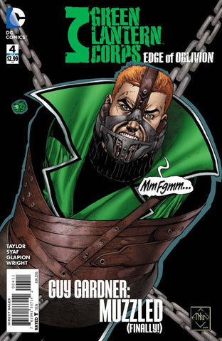 GREEN LANTERN CORPS EDGE OF OBLIVION #4 (OF 6) - Packrat Comics