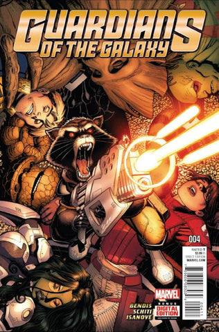 GUARDIANS OF GALAXY #4 - Packrat Comics