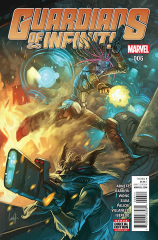 GUARDIANS OF INFINITY #6