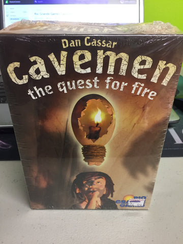 Rio Grande Games Cavemen: The Quest for Fire