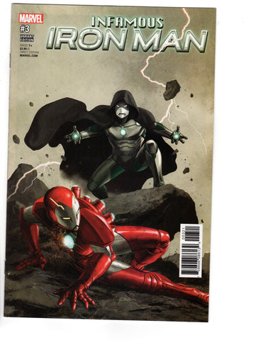 INFAMOUS IRON MAN #3 EPTING VAR