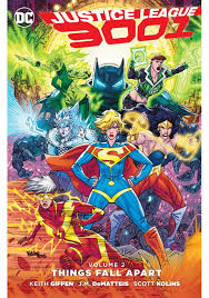JUSTICE LEAGUE 3001 TP VOL 02 THINGS FALL APART - Packrat Comics