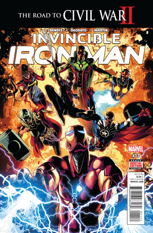 INVINCIBLE IRON MAN #11 - Packrat Comics
