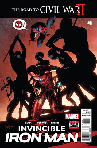INVINCIBLE IRON MAN #8 - Packrat Comics