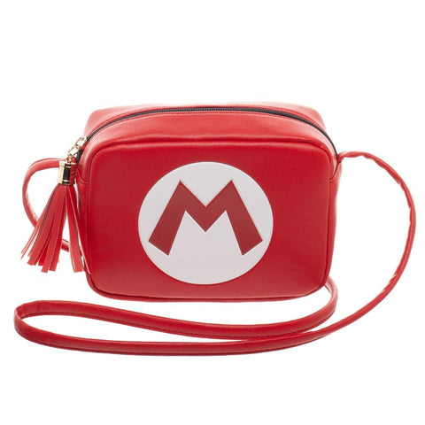 Super Mario Camera Crossbody Bag