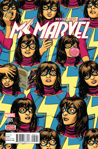 MS MARVEL #5 - Packrat Comics