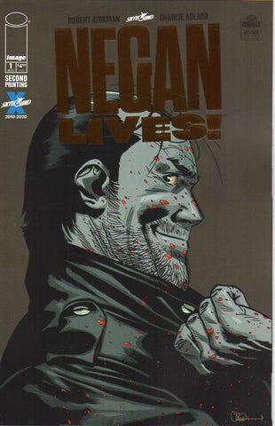 NEGAN LIVES #1 RETAILER THANK YOU VAR BRONZE - Packrat Comics