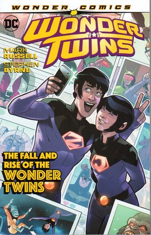 WONDER TWINS TP VOL 02 FALL & RISE OF THE WONDER TWINS (RES)