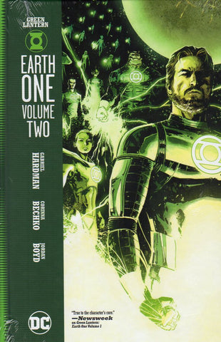 GREEN LANTERN EARTH ONE HC VOL 02