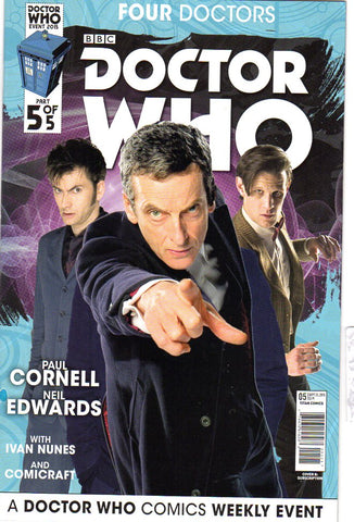 DOCTOR WHO 2015 FOUR DOCTORS #5 (OF 5) SUBSCRIPTION PHOTO (C - Packrat Comics