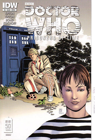 DOCTOR WHO PRISONERS OF TIME #5 (OF 12)B CVR