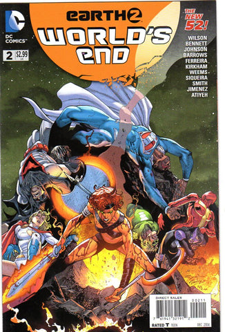 EARTH 2 WORLDS END #2 - Packrat Comics