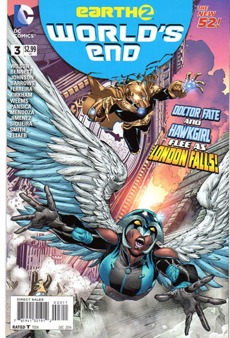 EARTH 2 WORLDS END #3