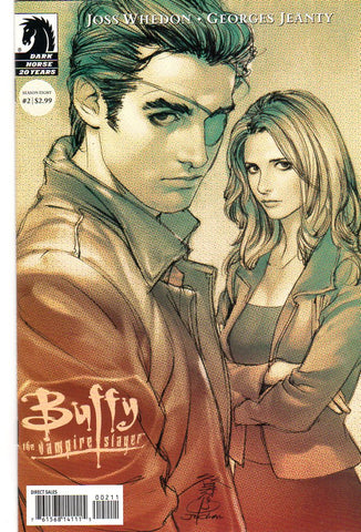BUFFY THE VAMPIRE SLAYER #2 2ND PTG