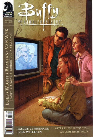 BUFFY THE VAMPIRE SLAYER #20 - Packrat Comics