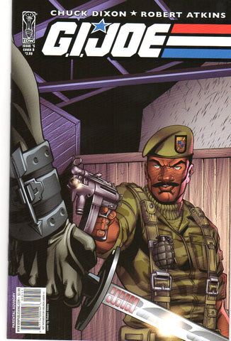 GI JOE #5 COVER B