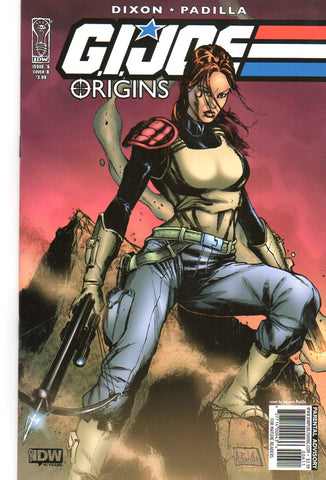 GI JOE ORIGINS #6 COVER B