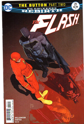 FLASH #21 INTERNATIONAL EDITION (THE BUTTON)