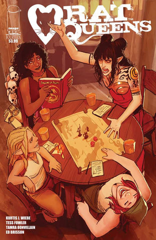 RAT QUEENS #14 (MR)