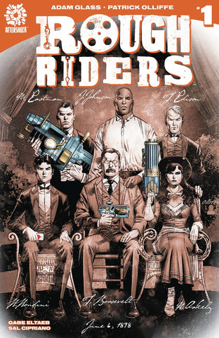 ROUGH RIDERS #1 2ND PTG - Packrat Comics