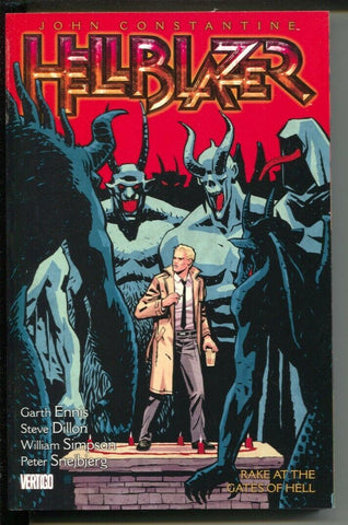 HELLBLAZER TP VOL 08 RAKE AT THE GATES OF HELL (MR) - Packrat Comics