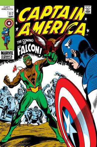 CAPTAIN AMERICA #117 FACSIMILE EDITION - Packrat Comics